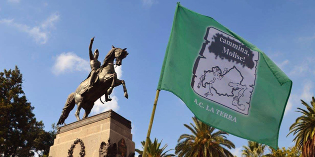 bandiera cammina molise