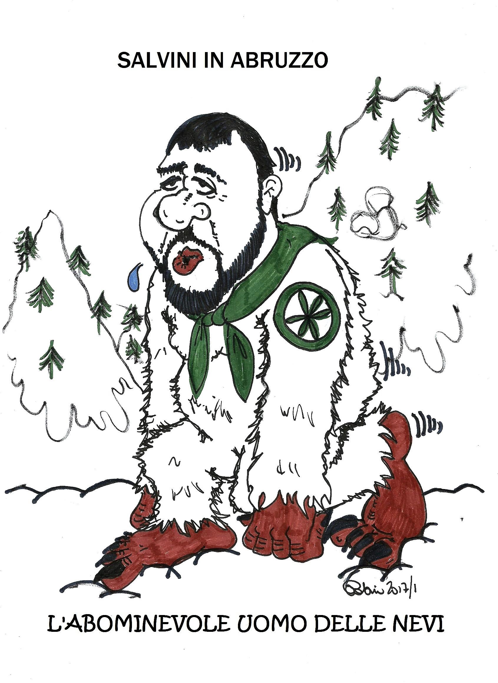 Salvini in Abruzzo