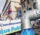 Un momento del corteo indetto dal Comitato per l'Acqua bene comune, per manifestare contro il ritorno al nucleare e la cosiddetta privatizzazione dell'acqua, questo pomeriggio 26 marzo 2011 a Roma. ANSA/MASSIMO PERCOSSI