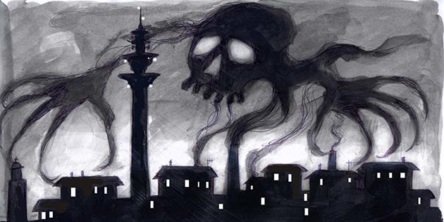 inquinamento minaccioso
