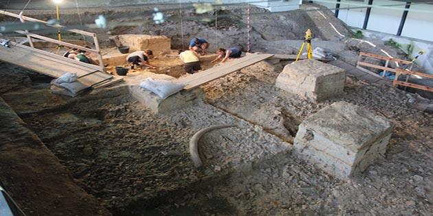le attivita di scavo nel corso del 2014