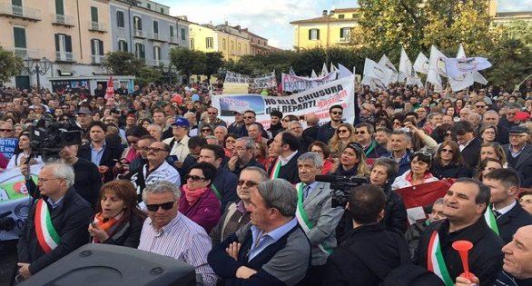 Sanità: manifestazione a Campobasso