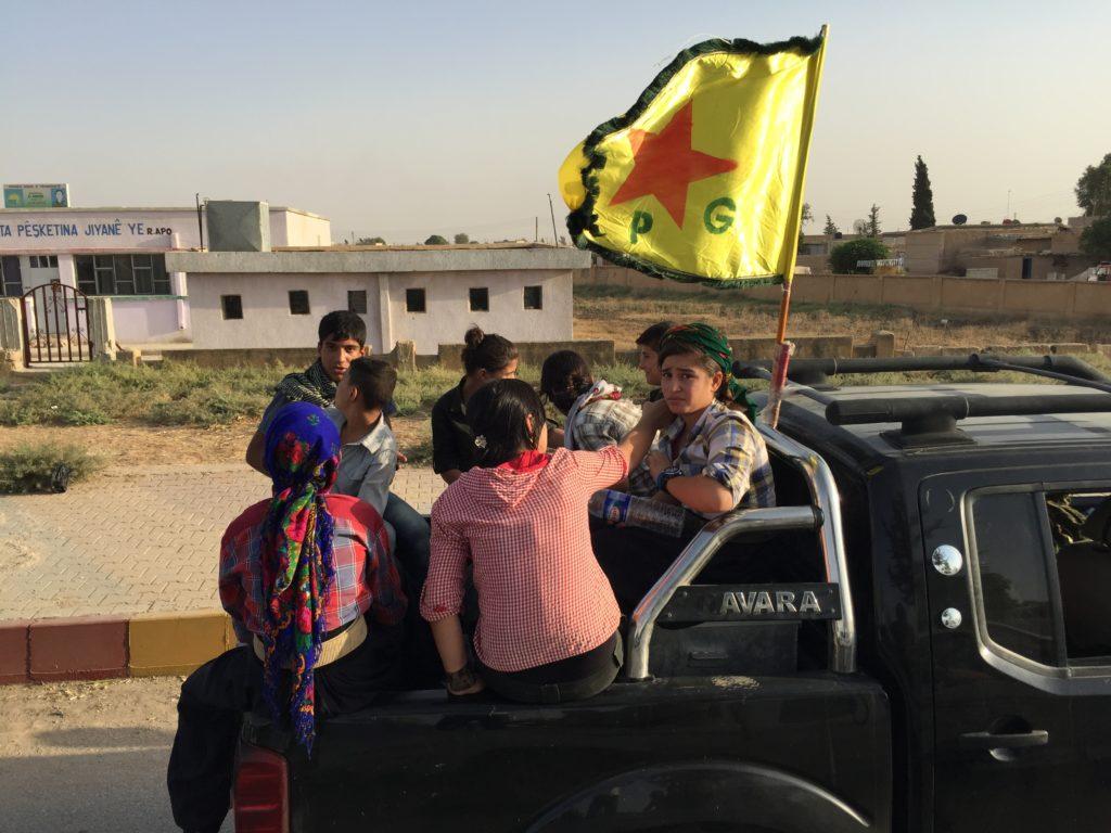 Combattenti dell'YPG riconquistano la città di Amuda in Siria - PH ©Ivan Grozny