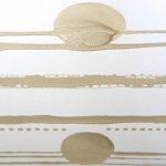 Silenzio siderale, 2017, smalto, 70x70 cm