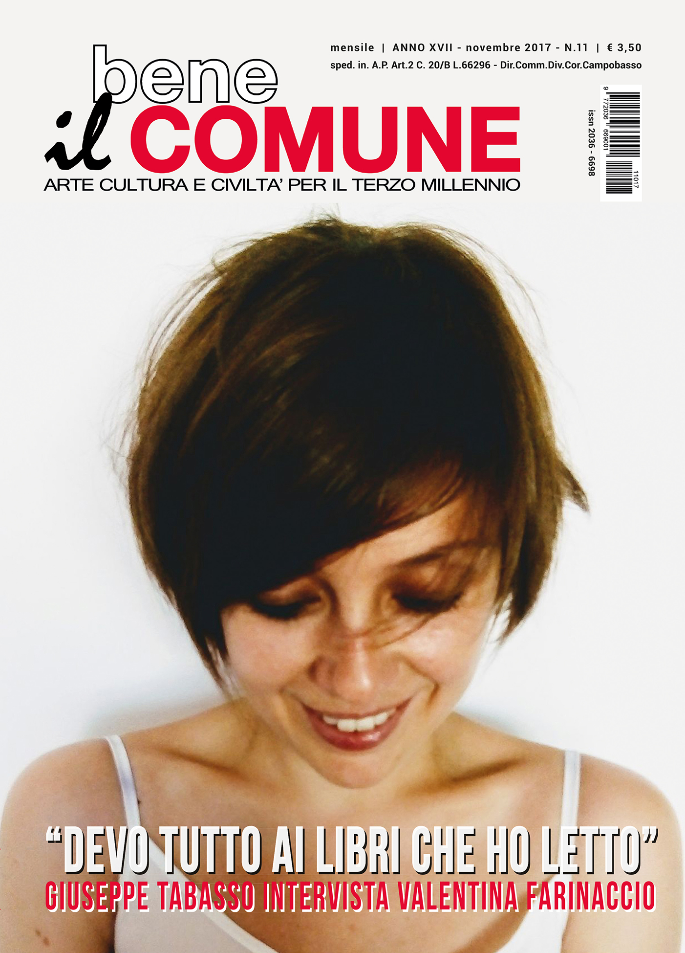 copertina novembre 2017