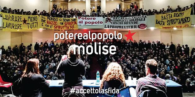 Anche in Molise l'impossibile diventa realtà. Potere al popolo!