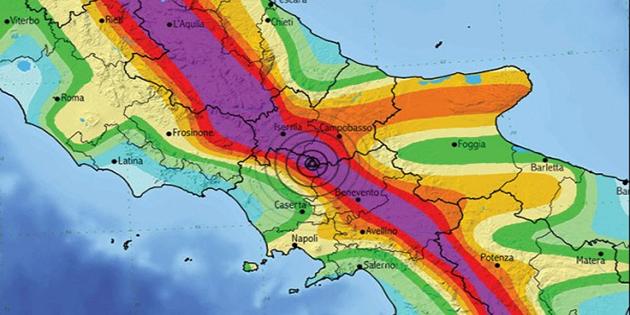 faglia matese terremoti