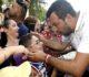 Foto Stefano Cavicchi/LaPresse 23-07-2019 Bibbiano, Italia Politica Affidi illeciti, Matteo Salvini a BibbianoNella foto: il ministro dell'Interno Matteo Salvini in piazza del municipio di Bibbiano