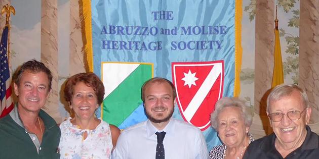 20° anniversario dell'Associazione Abruzzo e Molise di Washington DC.