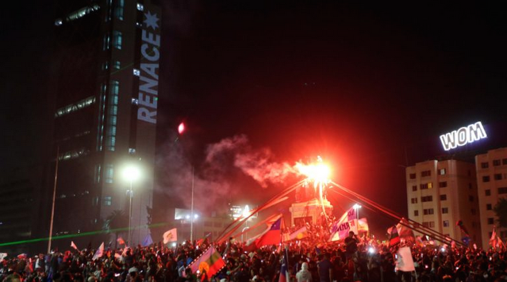 Festeggiamenti in Cile